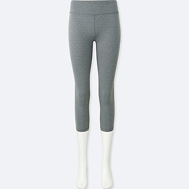 WOMEN AIRism Cropped Leggings Trousers