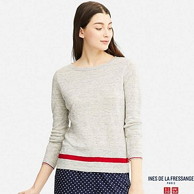 WOMEN INES PREMIUM LINEN SWEATER