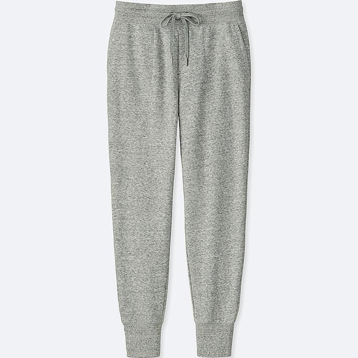 WOMEN SWEATPANTS, GRAY, large