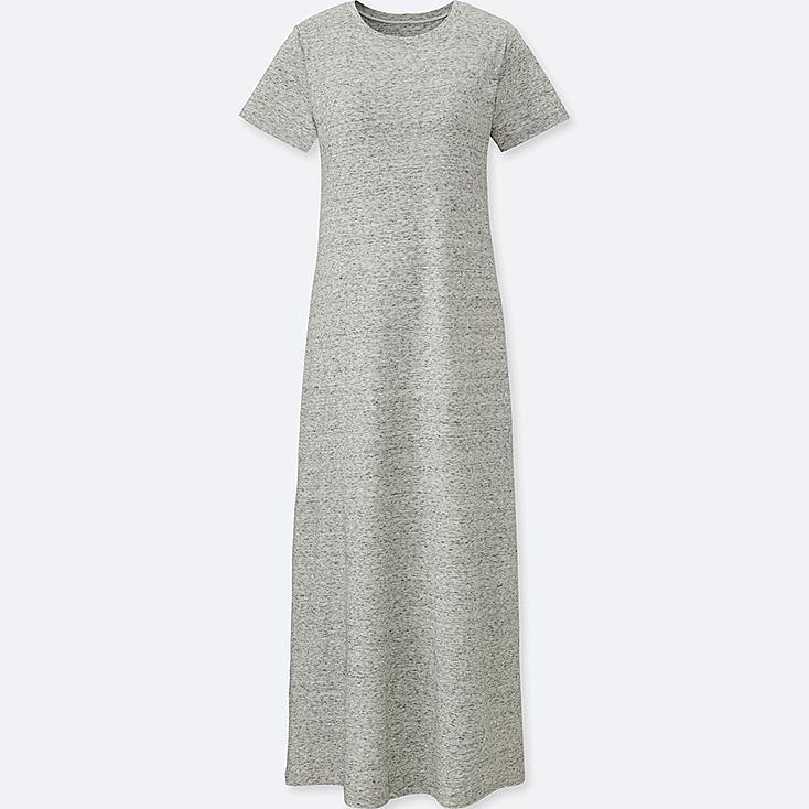 WOMEN LONG BRA DRESS (ONLINE EXCLUSIVE), GRAY, large