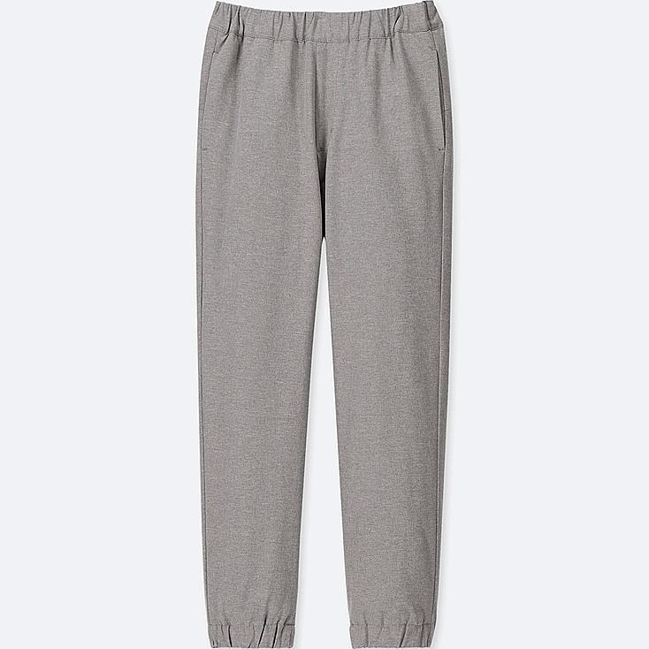 KIDS WARM-LINED JOGGER PANTS, GRAY, large