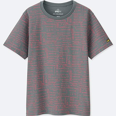WOMEN SPRZ NY GRAPHIC T-SHIRT (JEAN-MICHEL BASQUIAT)