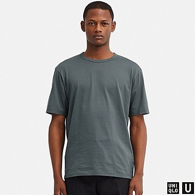 MEN UNIQLO U SUPIMA COTTON SHORT SLEEVED T-SHIRT