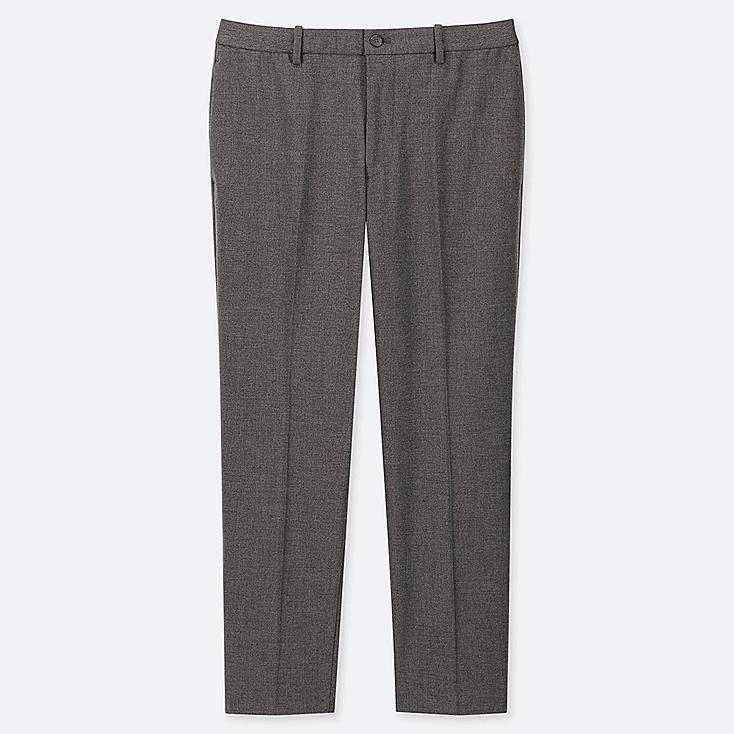 "MEN EZY ANKLE-LENGTH PANTS (TALL 31"") (ONLINE EXCLUSIVE), GRAY, large"