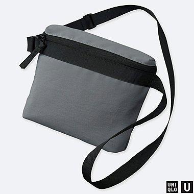 U MINI SHOULDER BAG, GRAY, medium