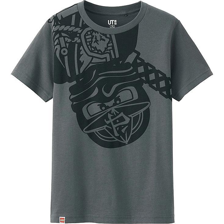 BOYS LEGO® Ninjago Graphic T-Shirt, GRAY, large