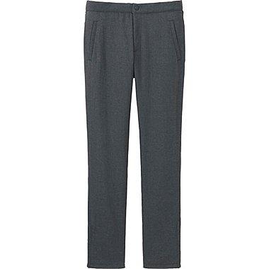WOMEN BLOCKTECH WARM-LINED SLIM FIT PANTS, GRAY, medium