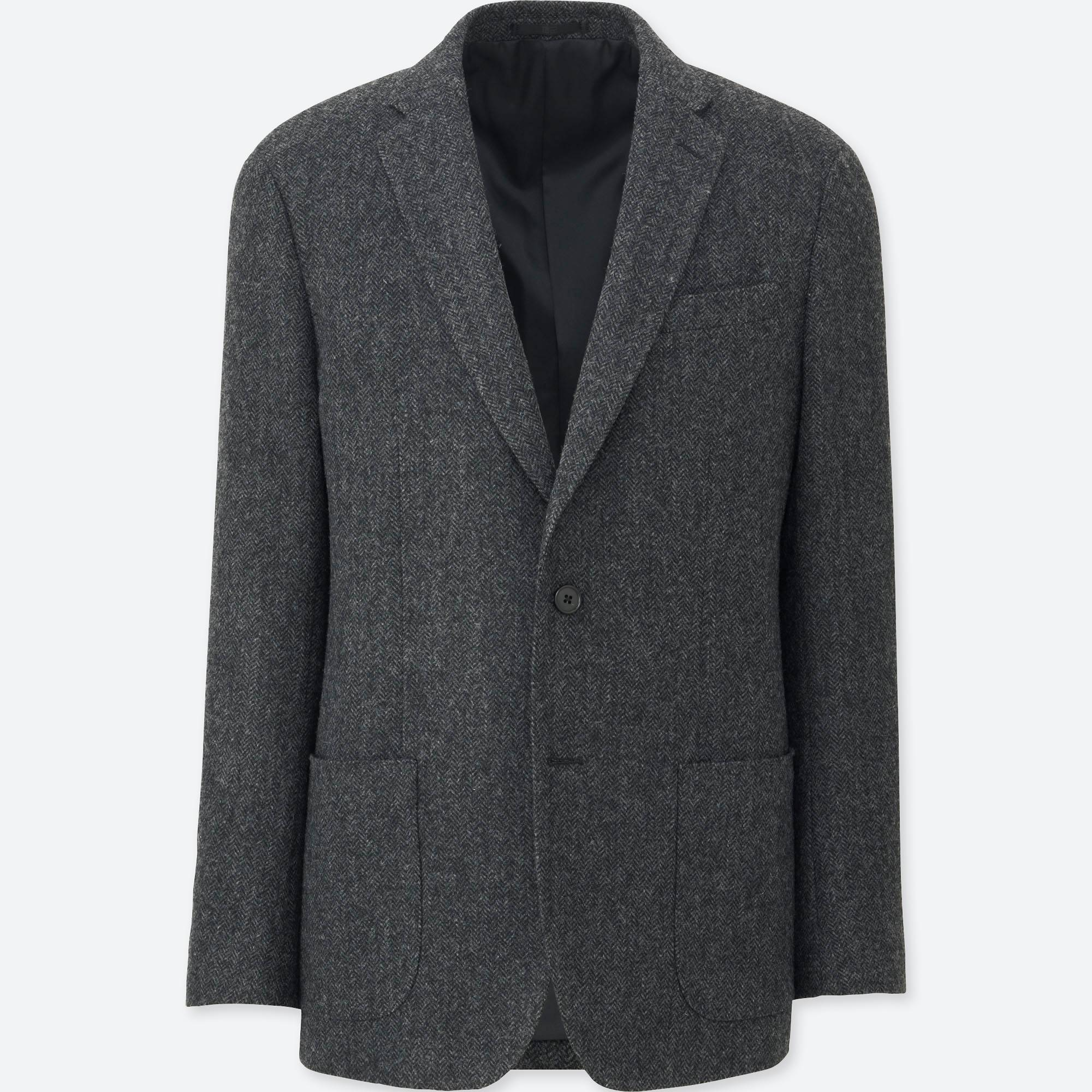 MEN TWEED JACKET | UNIQLO US