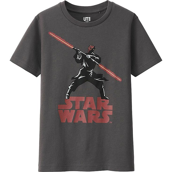 KINDER T-Shirt bedruckt STAR WARS