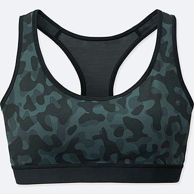 Women Comfort Bra (Camouflage), GRAY, medium