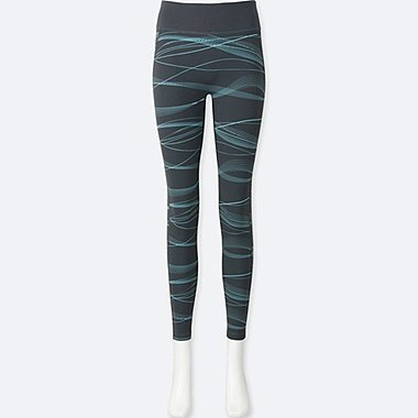 WOMEN AIRism Printed Leggings