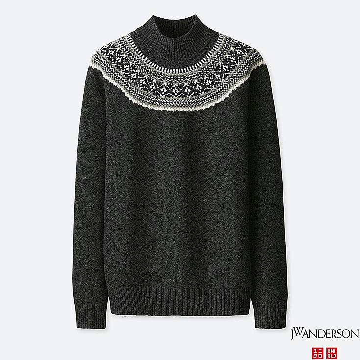 PULL EN MAILLE col montant J.W.ANDERSON HOMME