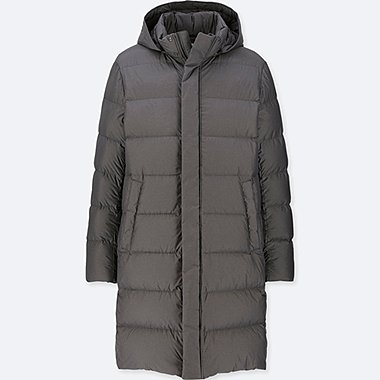 MEN ULTRA LIGHT DOWN HOODED COAT