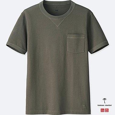 MEN SUPIMA® COTTON SHORT-SLEEVE T-SHIRT, GRAY, medium