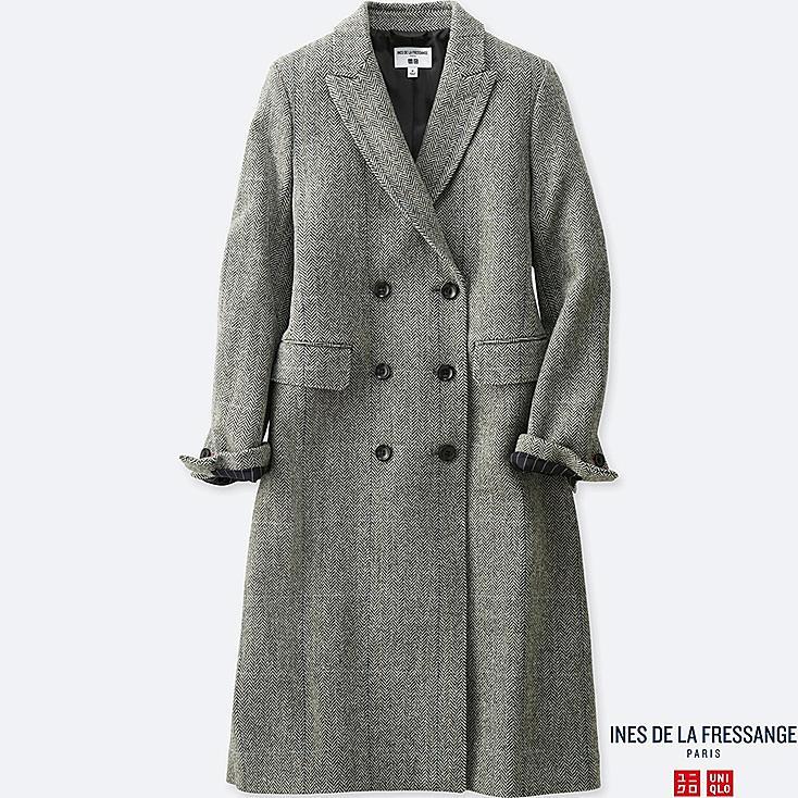 Damen Ines Tweed-Mantel