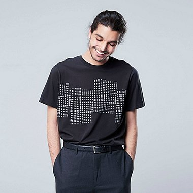 MEN SUPERGEOMETRIC GEORGE SOWDEN GRAPHIC PRINT T-SHIRT