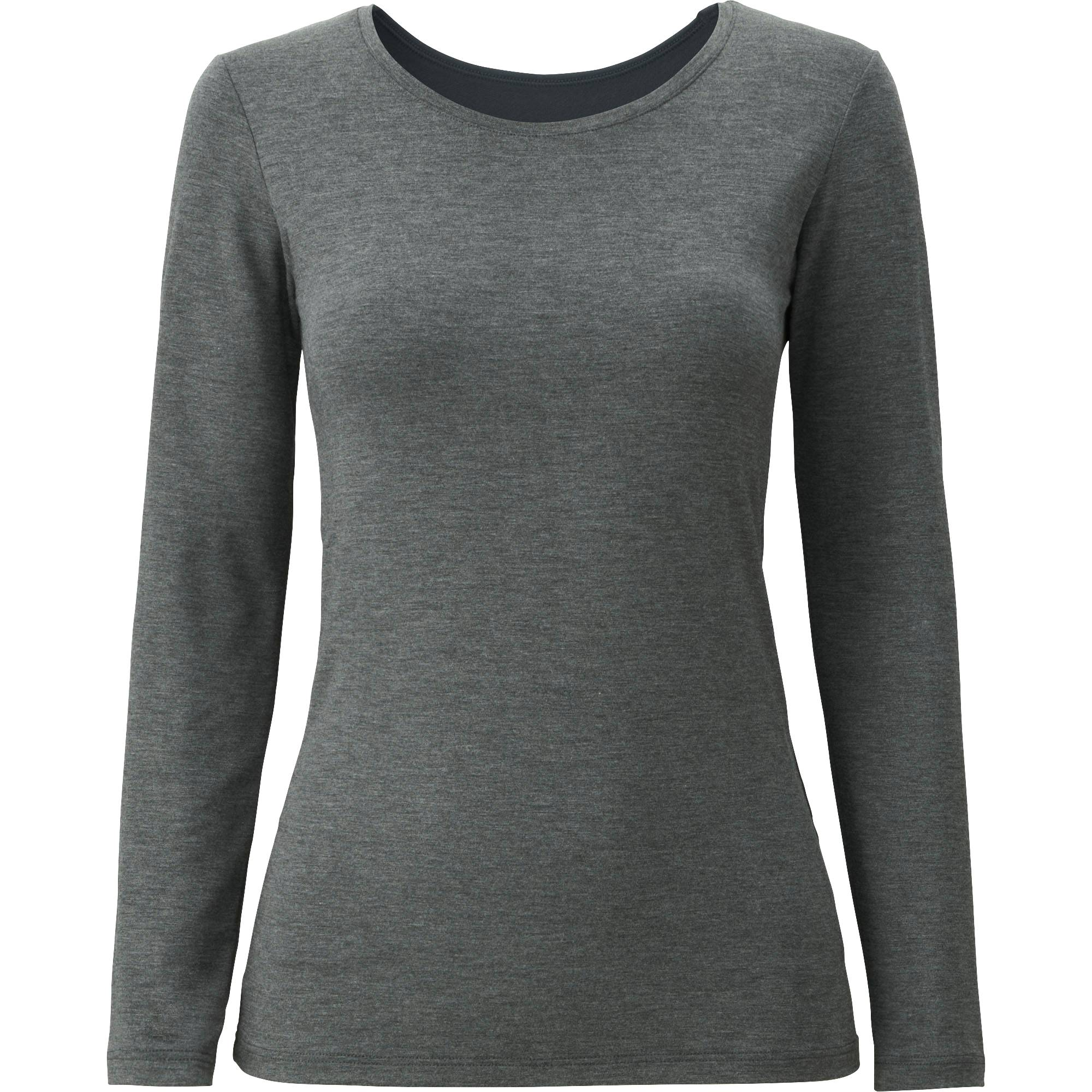 WOMEN HEATTECH EXTRA WARM CREW NECK T-SHIRT | UNIQLO US