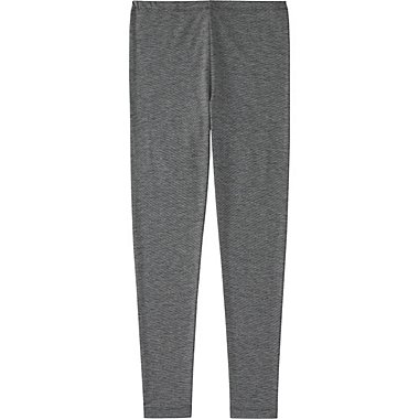 KIDS HEATTECH LEGGINGS, DARK GRAY, medium