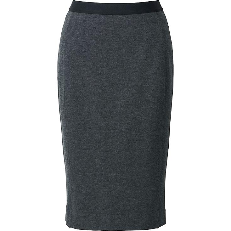 WOMEN Ponte Pencil Skirt