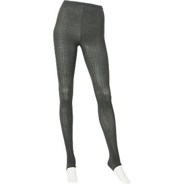 WOMEN HEATTECH Knitted Extended Length Leggings (Rib)