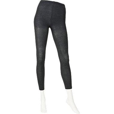 WOMEN HEATTECH Knitted Leggings (Geometric)