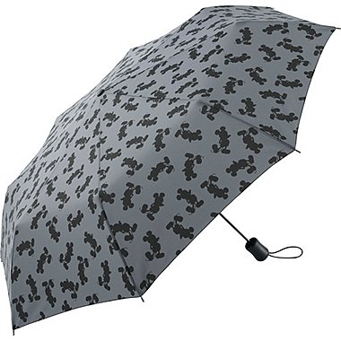 Men Disney Project Compact Umbrella, DARK GRAY, medium