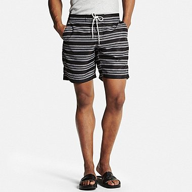 Mens Swim Shorts, DARK GRAY, medium