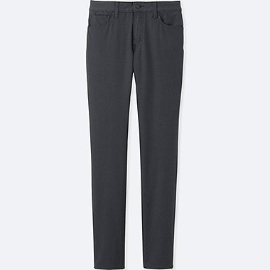 Mens Stretch Skinny Fit Colored Jeans, DARK GRAY, medium