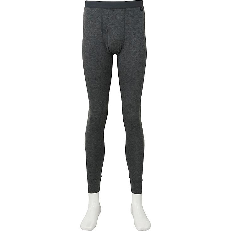 MEN HEATTECH TIGHTS, DARK GRAY, large