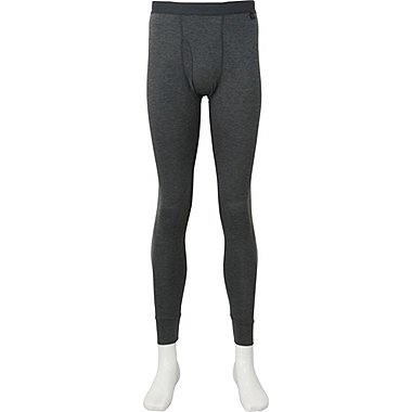 MEN HEATTECH TIGHTS, DARK GRAY, medium