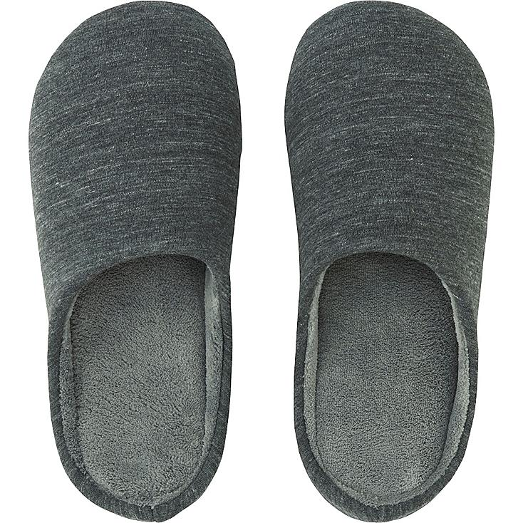 Slippers, DARK GRAY, large