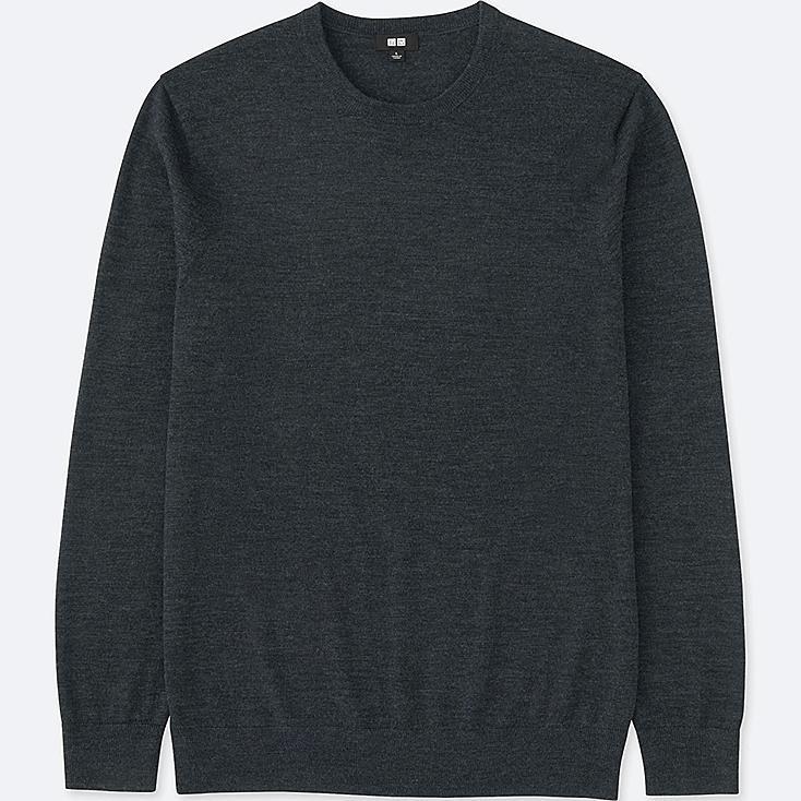 MEN Extra Fine Merino Crew Neck Sweater