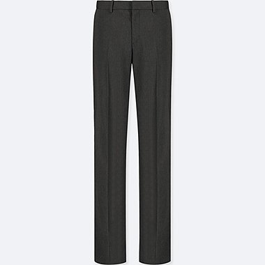 WOMEN STRETCH PANTS, DARK GRAY, medium