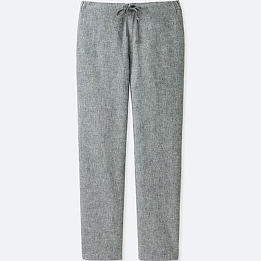 WOMEN Cotton Linen Relaxed Trousers