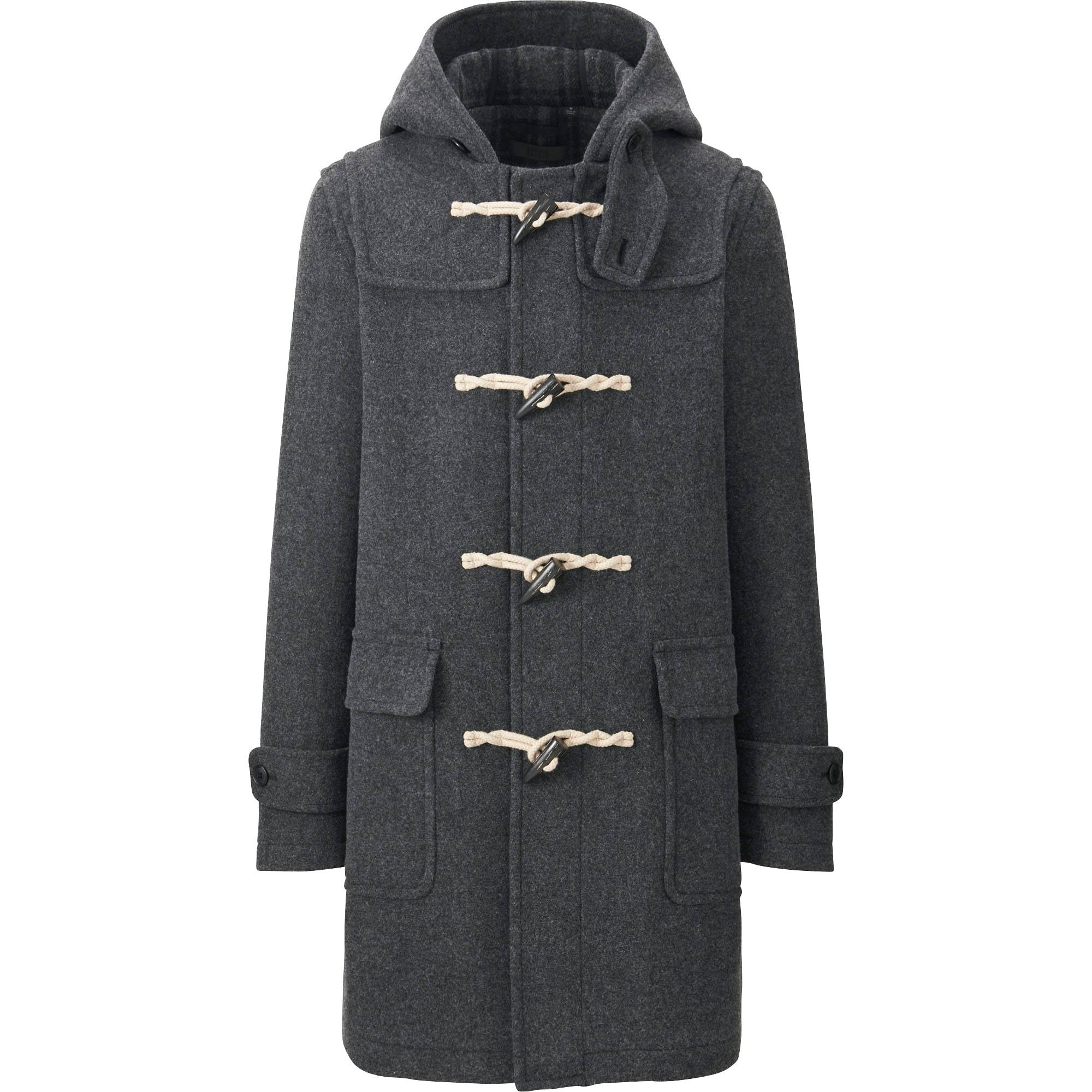 Men Wool Duffle Coat