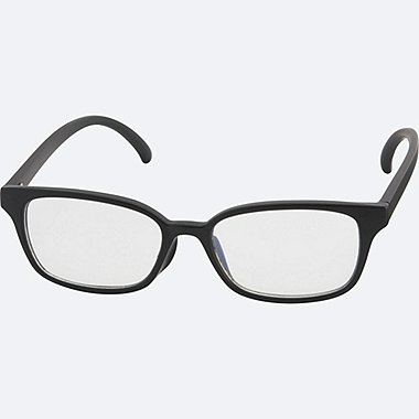 MEN Square Clear Lens Sunglasses