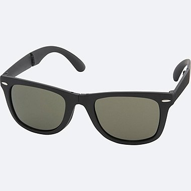 WELLINGTON FOLDING SUNGLASSES, DARK GRAY, medium