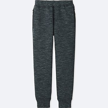 KIDS DRY STRETCH SWEAT PANTS, DARK GRAY, medium
