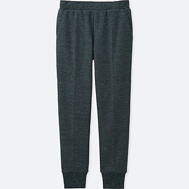 WOMEN BLOCKTECH FLEECE PANTS, DARK GRAY, medium