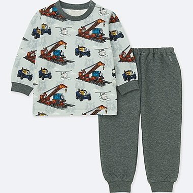 BABIES TODDLER THOMAS & FRIENDS QUILTED LONG SLEEVE PYJAMAS