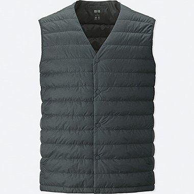 Ultra Light Down Compact Vest, DARK GRAY, medium