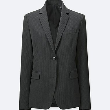 WOMEN STRETCH BLAZER SUIT JACKET