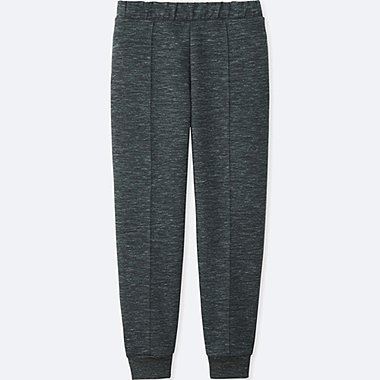 WOMEN DRY STRETCH SWEAT PANTS, DARK GRAY, medium