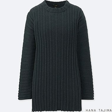 WOMEN HANA TAJIMA COTTON CASHMERE OVERSIZED TUNIC
