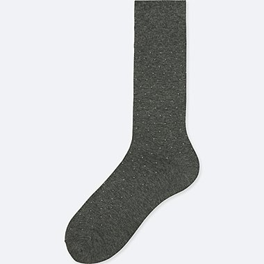 MEN SUPIMA COTTON DOTS SOCKS (SIZE 8-11)