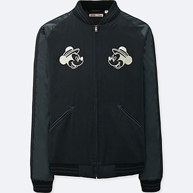 MEN MICKEY TRAVELS SOUVENIR JACKET