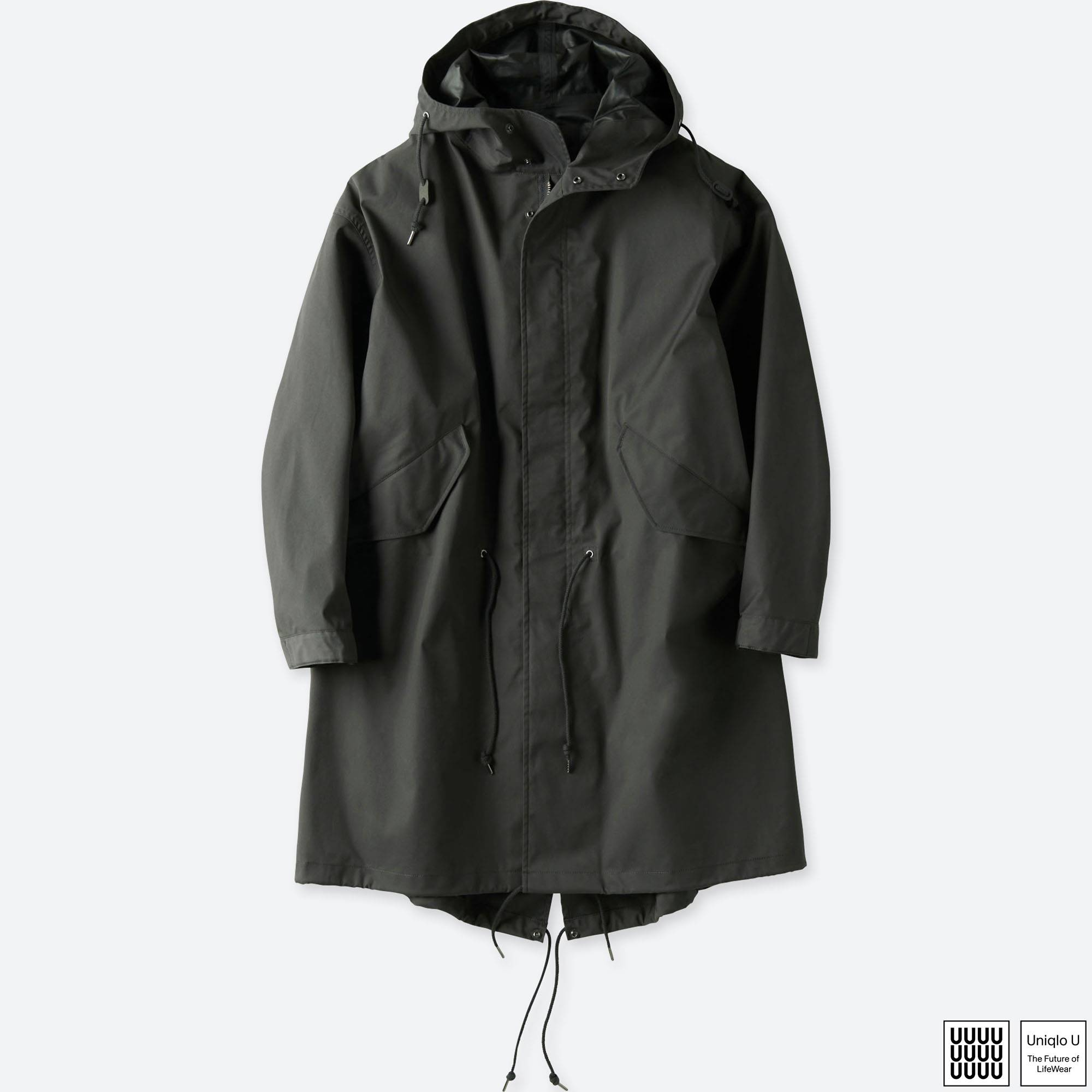 MEN U BLOCKTECH MODS COAT | UNIQLO US