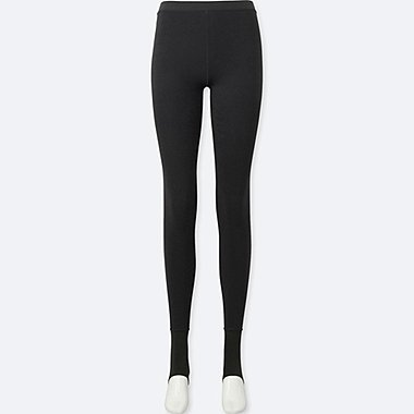 WOMEN HEATTECH KNITTED STIRRUP LEGGINGS