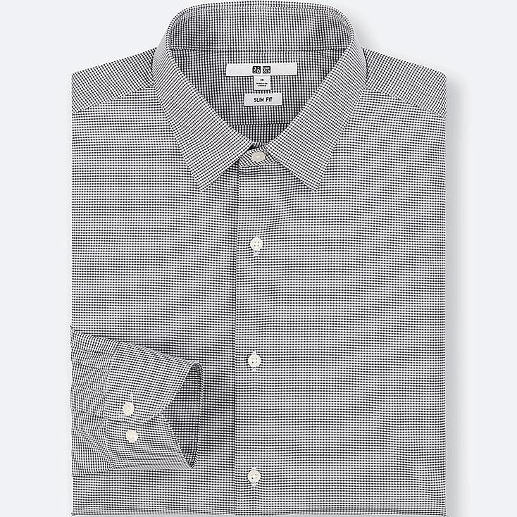 Camisa Easy Care Slim Fit de cuadros HOMBRE