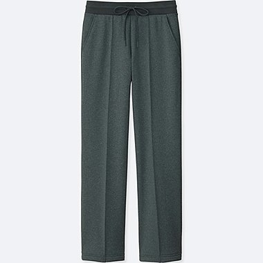 WOMEN BLOCKTECH FLEECE STRAIGHT PANTS